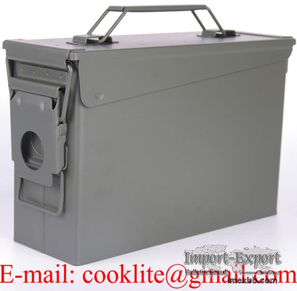 Military Ammo Box Bullet Can Ammunition Box - M19A1 30 Cal