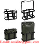 Vertical Jerry Can Holder Steel Mounting Rack for 10L/20L Metal Jerry Cans