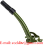 Metal Jerry Can Pouring Spout with Rubber Flexible Nozzle For NATO Gas Cans