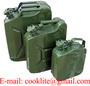 Metal Jerry Gas Can 5/10/20 Liter Petrol Diesel Fuel Tank