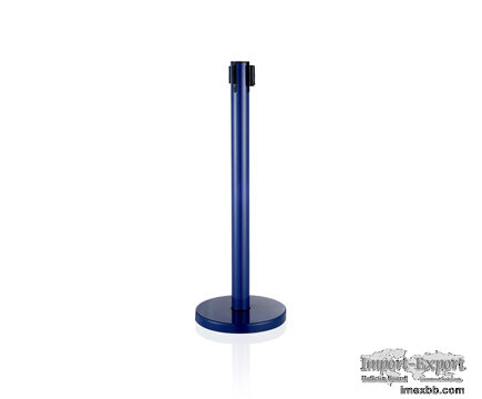 LG-B6 Blue Vip Control Crowd Queue Pole Post Belt Stanchions for Airport