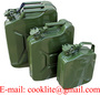 Army Authentic Military Jerry Fuel Can Steel Gas Tank 5L/10L/20L