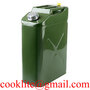 5 Gallon Metal Jerry Can 20L US Military Style Gasoline Diesel Storage Tank