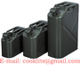 Military Metal Petrol Fuel Jerry Can Steel Gas Tank 5/10/20 Litre