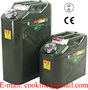 Military Style Storage Jerry Can Metal Fuel Canister Steel Petrol Tank