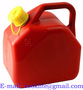 Plastic Spill Proof Diesel Fuel Can Polyethylene Petrol Can - 5 Litre