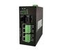 4-port RS485 + 4-port 10/100Base-T(X) + 2-port 100M FX Modbus Gateway