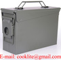 Ammo Box M19A1 30 Cal Military Surplus Ammo Can Waterproof Steel Ammunition