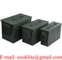 Ammo Box Mil-Spec Steel Ammo Can Waterproof Ammunition Storage Box