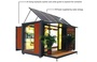 20FT/40FT Expandable Flat Pack Prefab Module Container House With Solar Ene
