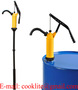 Lever Hand Drum Barrel Pump / Manual Oil Chemical Pump - P490S 18L/Min