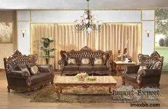 Customized 2021 Luxury Living Room Furniture Sectionals Antique Fabric Sofa