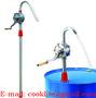Aluminum Rotary Hand Barrel Pump Fits on 15- 55 Gallons Drums - 32mm 29L/Mi