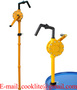 RP-90P Polypropylene ( PP ) Hand Rotary Chemical Resistant Drum Pump