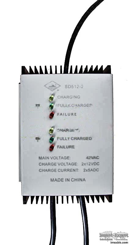 SD512-2 battery charger
