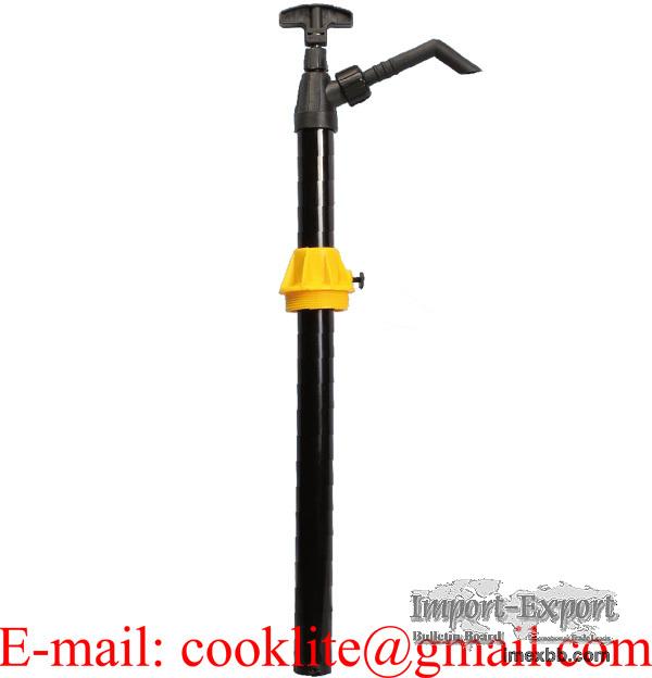 PP Plastic Hand Barrel Pump for Detergent Mild Acid Anti-freeze Windshield