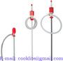 Polyethylene siphon barrel pump - Hand syphon chemical drum pump