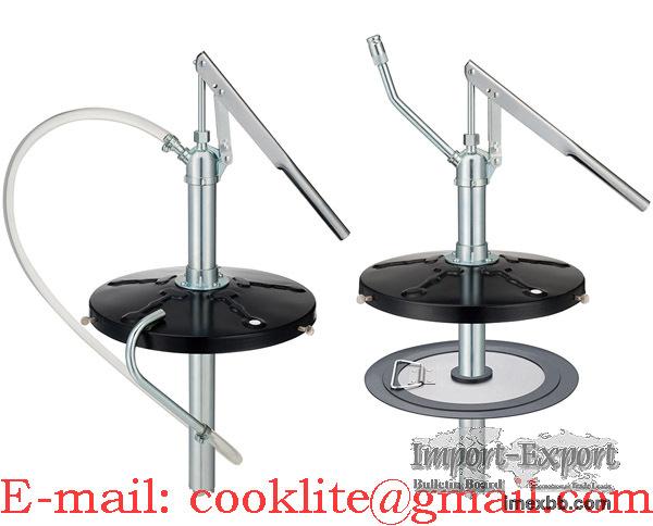 High pressure builders / garage hand pump portable grease transfer pump