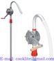 Hand rotary oil barrel pump made of aluminum Mechanical oil suction pump