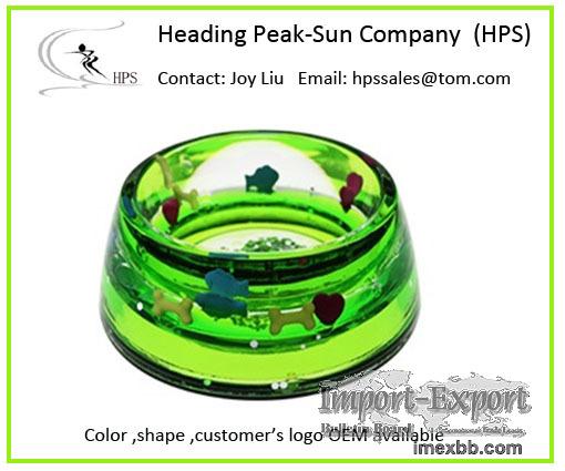 Eco-friendly funny Acrylic Doggy bowl 2021
