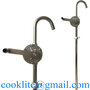 304 Stainless Steel & Ryton Hand Operated Drum Pump For Dispensing Alkaline