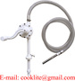 AdBlue/DEF Rotary Hand Drum Barrel Pump with 3M Stainless Wire Hose and SS3