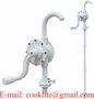 Plastic Rotary Chemical Drum Pump / 55 Gallon Drum Dispenser