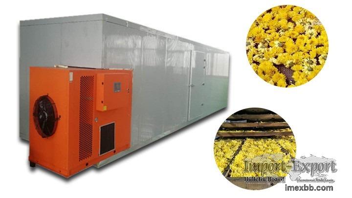 Chrysanthemum flowers dryer  Flower drying machine