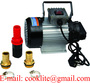 60L 550W Portable Diesel Transfer Pump Bio Fuel Oil Diesel