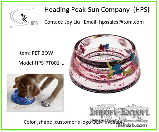 Acrylic pet bowl best seller