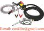 Diesel Kerosene Transfer Pump Kit Portable Fuel Dispenser Self Priming Oil