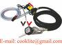 Diesel Fuel Transfer Pump Kit Diesel Oil Dispenser with Metering Fuel Nozzl