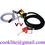 Portable Fuel Dispenser Electric Oil Diesel Transfer Pump Metering Fuel Noz