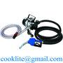 Diesel Fuel Transfer Pump 220V Mobile Diesel Oil Dispensing Pump Kit 110V