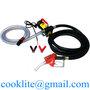 Mini Fuel Dispenser Mobile Gas Station DC Diesel Oil Fuel Transfer Pump Kit