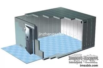 UL Class 3 Burglary Resistant Vault Safe Room , High Security Room For Bank