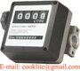 4 Digits Diesel Fuel Oil Flow Meter Mechanical Diesel Counter Flowmeter