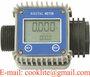 Turbine Electronic AdBlue Chemical Flow Meter Digital Diesel Water FlowMete