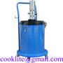 Pneumatic Compressed Lubricator Oil Dispensing Gun Bucket Grease Pump 30L