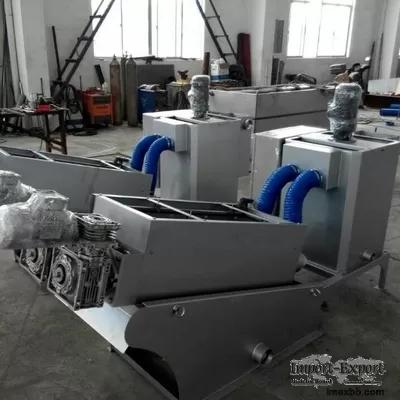 4.5m3/h Screw Press Sludge Dewatering Machine , Chemical Sludge Dewatering