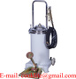 Wheeled Manual Grease Lubricator Pedal Pump - 12L Foot Step Oiler