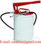 Manual Grease Pump Oval Lubrication Bucket - 20L High Pressure Oiler