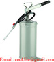 Hand Operated High Volume Lubrication Bucket Lever Action Grease Pump - 5L