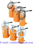 Hand Operated Bucket Grease Pump Gear Lube Dispenser Lubrication Oiler
