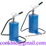 Manual Grease Bucket Pump 16L Lever Hand Lube Oil Injector Dispenser