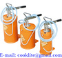 Hand Operated Engine Oil Bucket Pump 5/10/16L Manual Gear Lube Dispenser