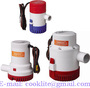 Electric Submersible Bilge Pump DC 12V 24V - Ebay Amazon Hot Sales