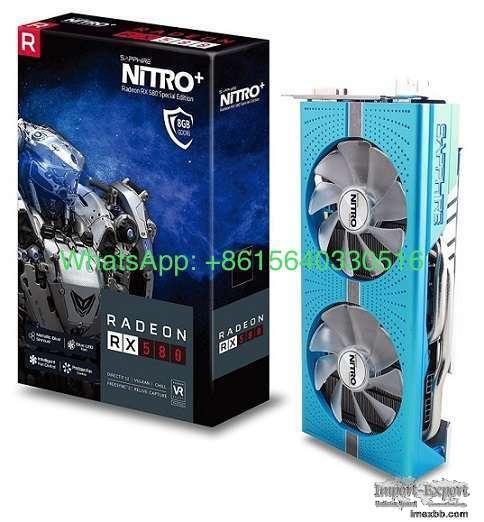 Sapphire Radeon NITRO+ RX 580 8GB GDDR5 DUAL HDMI / DVI-D / DUAL DP w/ back