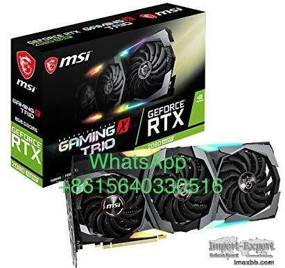 MSI Gaming GeForce RTX 2080 Super 8GB GDRR6 256-Bit HDMI/DP Nvlink Tri-Fr