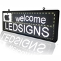 Programmable Car Rear LED Window Display Signs P10 Full Color With WIFI Con